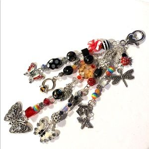 Butterfly Purse Charms